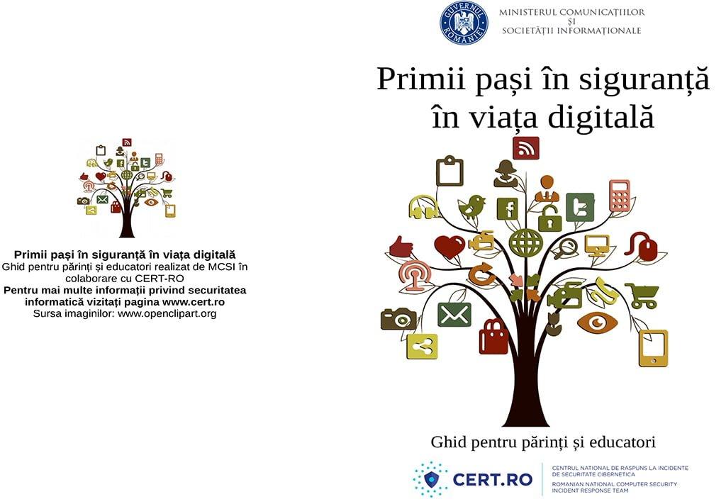 Ghid - Primii pasi in siguranta in viata digitala