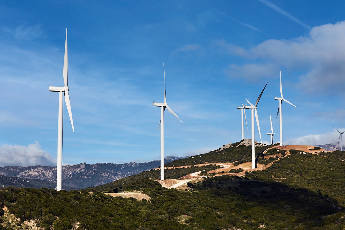 parc eolian energie verde curent energie electrica